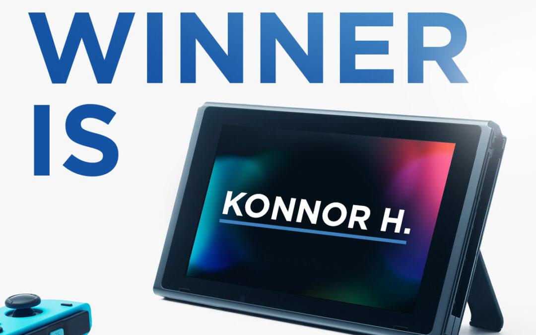 Nintendo Switch Winner!